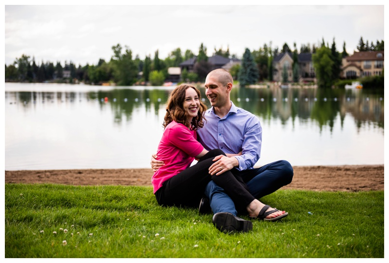 Calgary Lake Bonnavista Anniversary Session