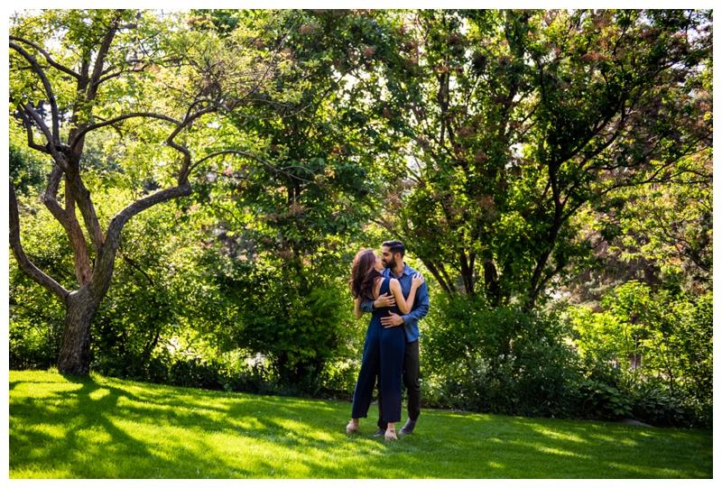 Reader Rock Garden Engagement Photographer Calgary