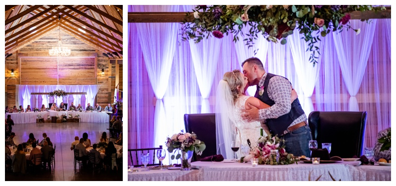 Willow Lane Barn Wedding Reception Photographer
