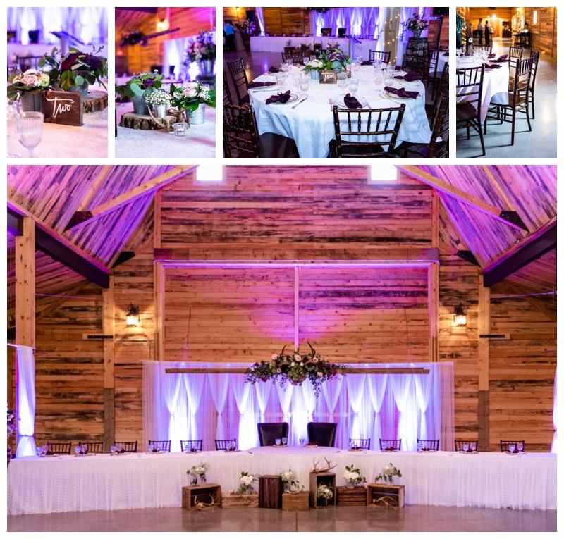 Willow Lane Barn Wedding Reception Photos