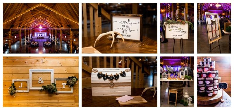 Willow Lane Barn Wedding Reception
