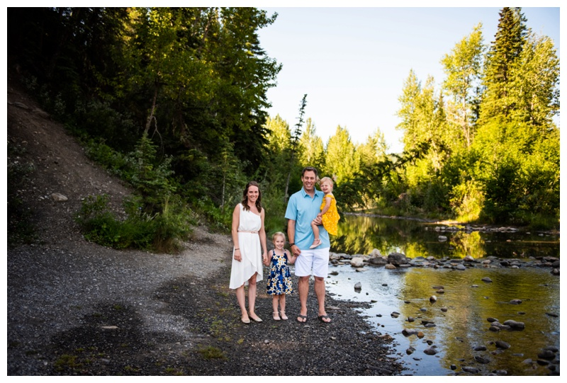 Bragg Creek Family Session