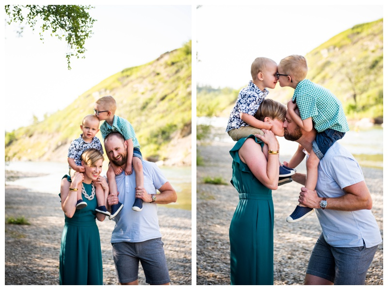 Calgary Sandy Beach Park Family Photographer