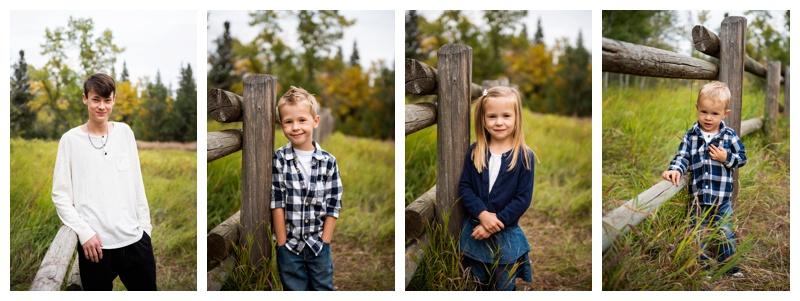 Autumn Fish Creek Park Family Session Calgary