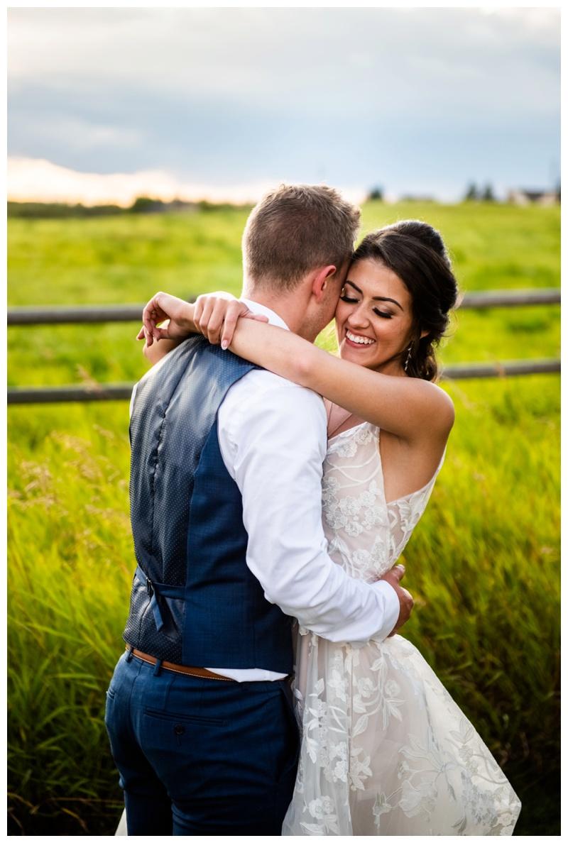 Calgary Sunset Wedding Photographers