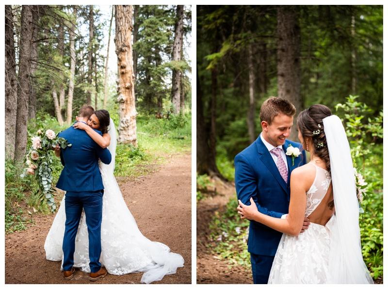 Calgary Wedding Photographer - First Look Photos