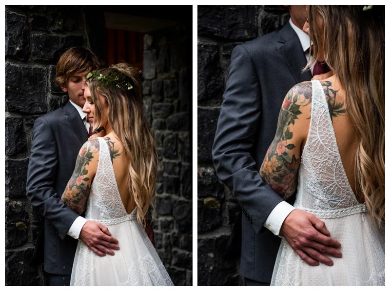 Fernie Island Lake Lodge Wedding - Bride & Groom Photography