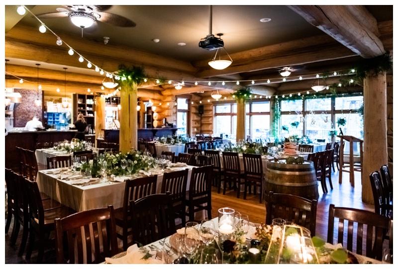Fernie Island Lake Lodge Wedding - Wedding Reception Photos