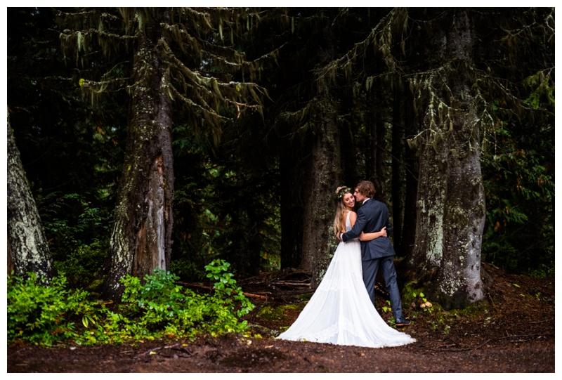 Island Lake Lodge Wedding Fernie BC- Bride & Groom Photographer