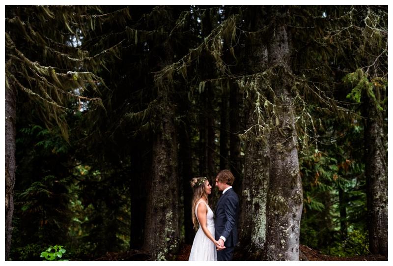 Island Lake Lodge Wedding Fernie BC- Bride & Groom Photographers