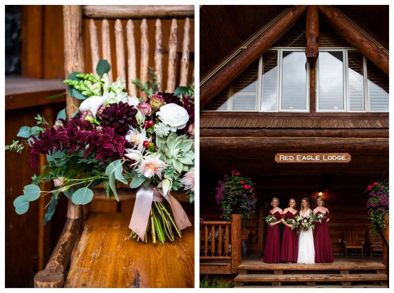 Island Lake Lodge Wedding Fernie BC- Wedding Party Photography