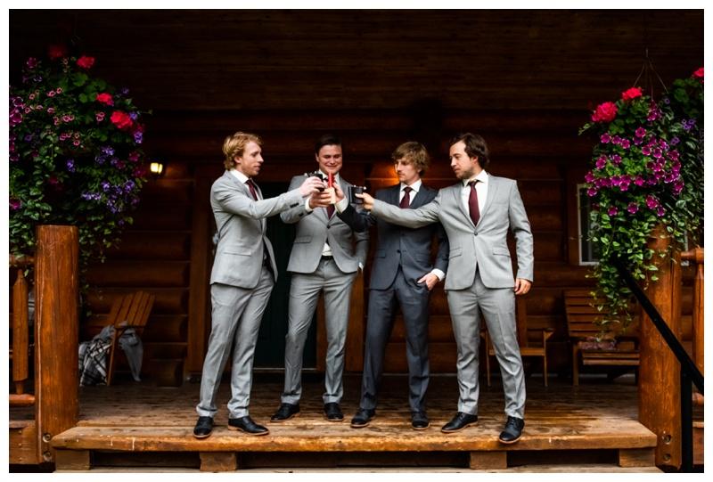 Island Lake Lodge Wedding Fernie BC- Wedding Party
