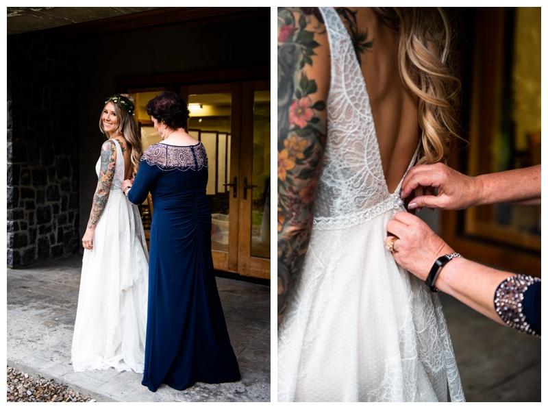 Island Lake Lodge Wedding Fernie Photographers