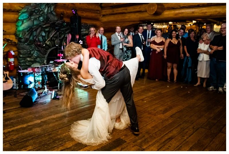 Island Lake Lodge Wedding Reception Fernie BC