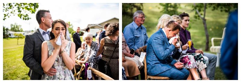 Wedding Ceremony Dewinton Community Hall Photographer - Calgary Photographer