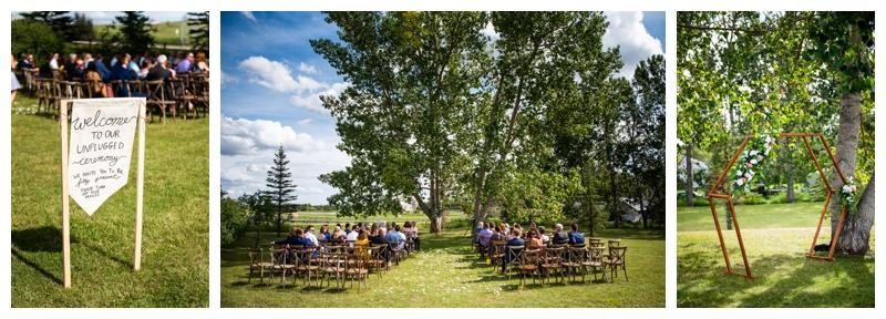 Wedding Ceremony Dewinton Community Hall