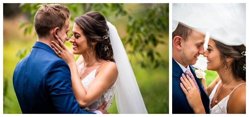 Wedding Photographers Calgary Alberta - Dewinton Wedding Ceremony