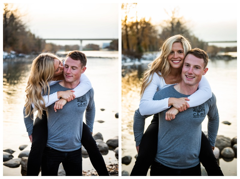 Bowness Park Engagement Photographers Calgary
