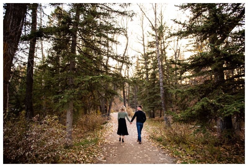Calgary Bowness Park Engagement Photographer