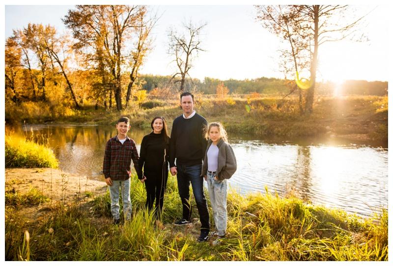 Calgary Fish Creek Park Family Photos