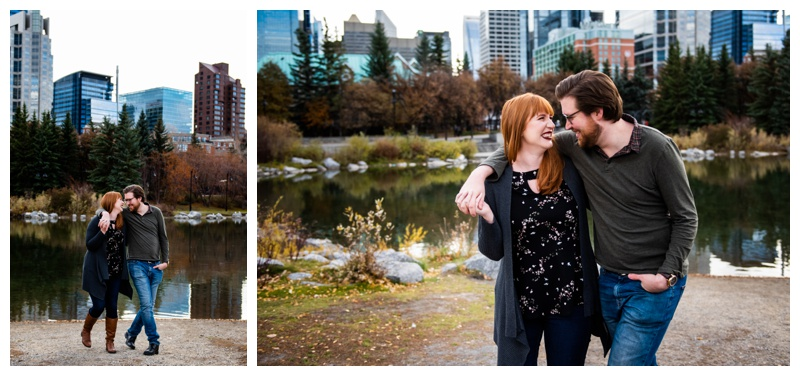 Calgary Prince's Island Park Engagement Photographer