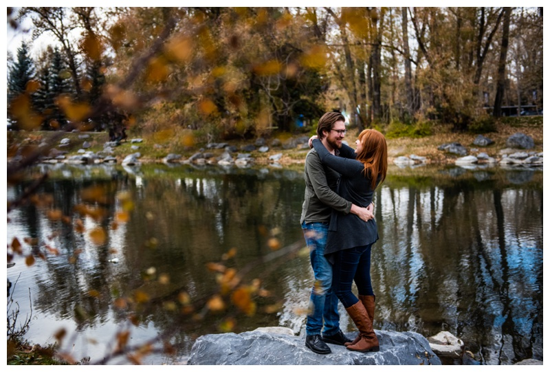 Calgary Prince's Island Park Engagement Session