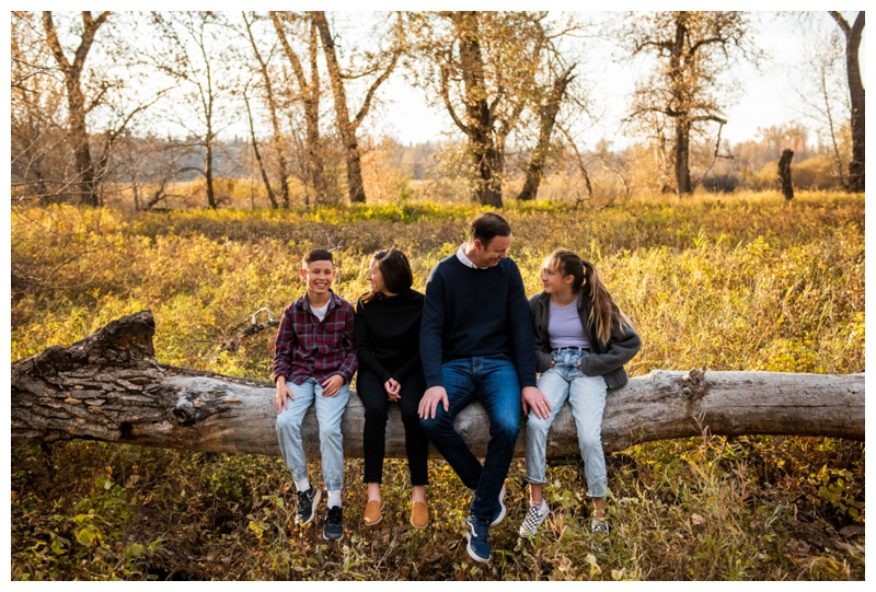Fall Fish Creek Park Family Photos