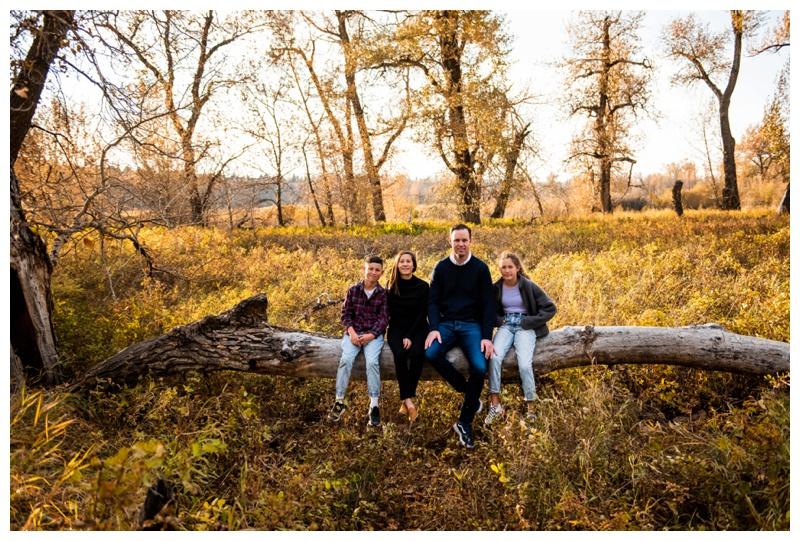 Fall Fish Creek Park Family Session