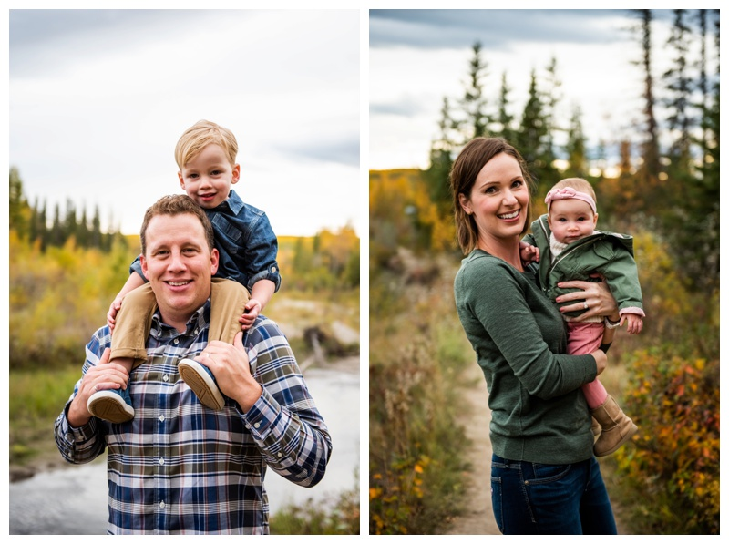 Griffith Woods Fall Family Photos Calgary