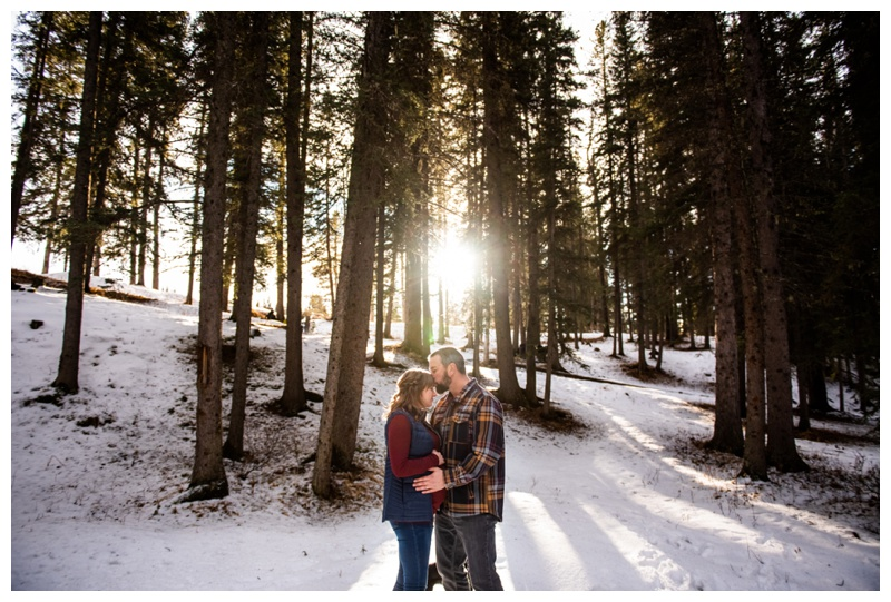 Calgary Winter Maternity Photos