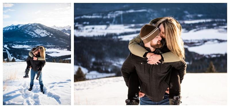Banff Wedding Proposal Photographers