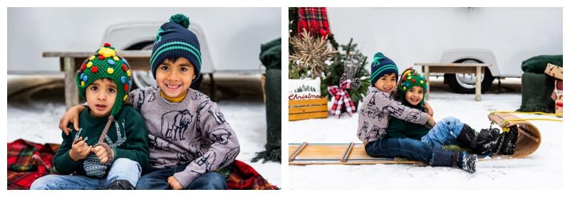 Calgary Christmas Mini Session Photography