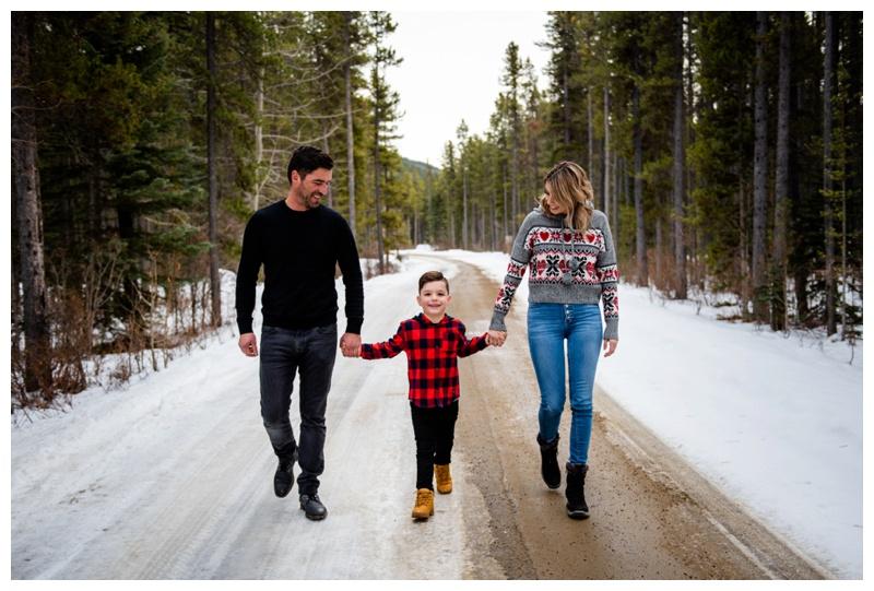 Calgary Christmas Mini Session Photos