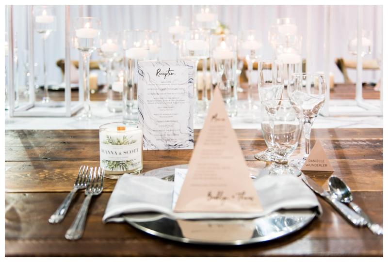 Calgary Wedding Reception Detail Photographer