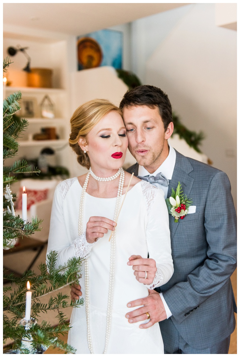 Scandinavian inspired winter wedding Calgary