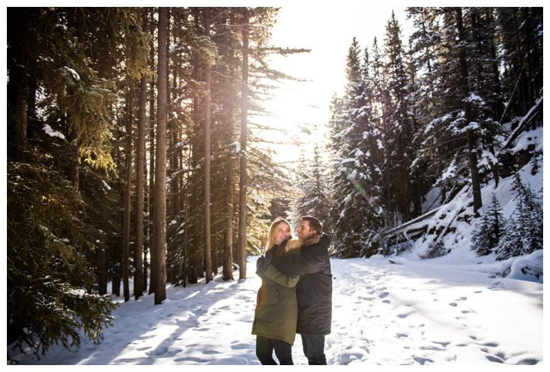 Banff Alberta Engagement Photographer
