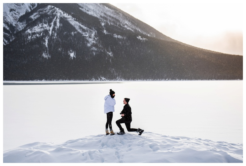 Banff Wedding Proposal Photographer