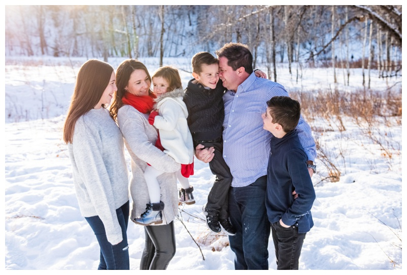 Calgary Winter Family Photography Session
