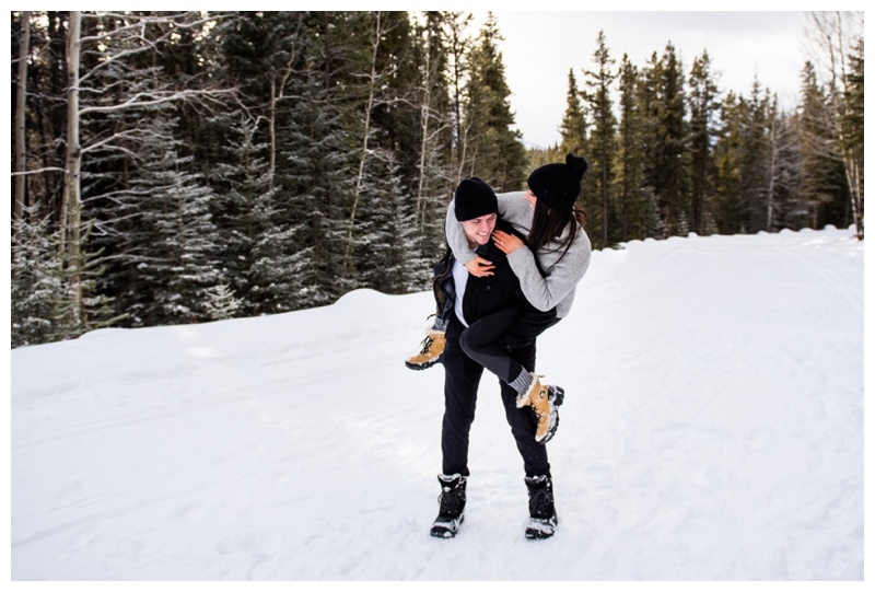 Proposal Photographers Canmore Alberta