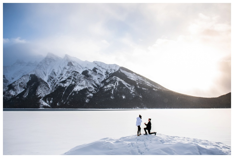 Rocky Mountain Wedding Proposal Photographers