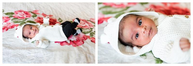 Winter In Home Newborn Session
