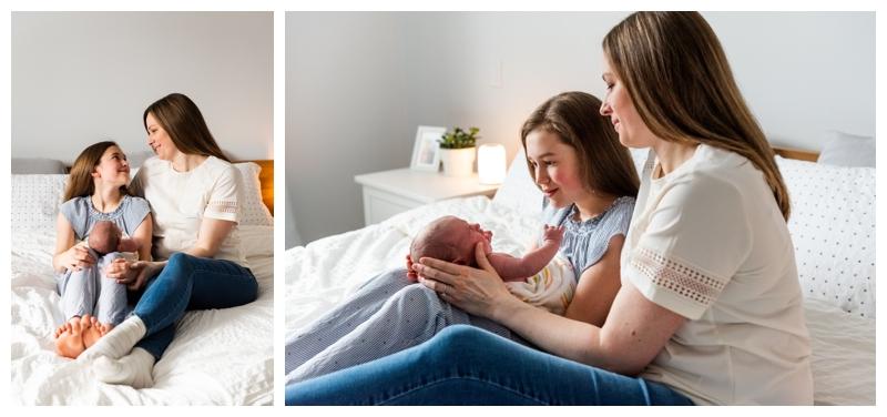 Calgary At Home Family Newborn Photography