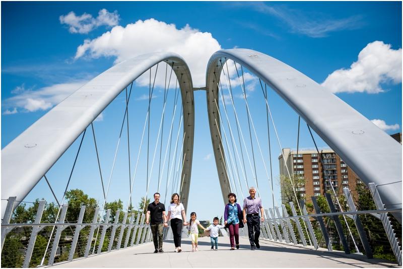 Calgary Downtown Extended Family Photos