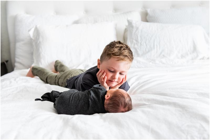 Calgary Alberta At Home Lifestyle Newborn Photographer