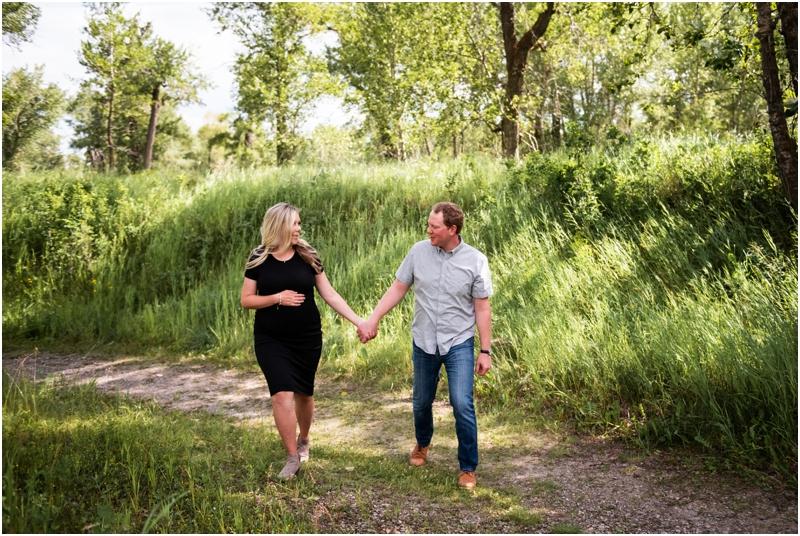 Calgary Hull's Wood Maternity Photos