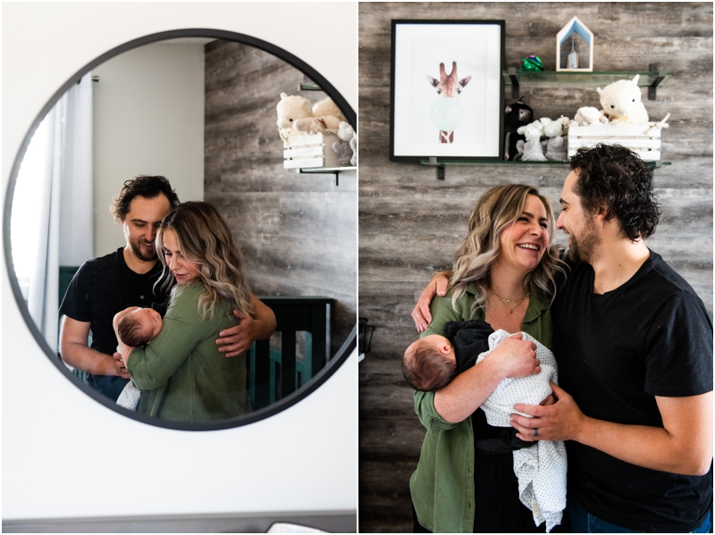 Calgary In Home Lifestyle Newborn Photographer