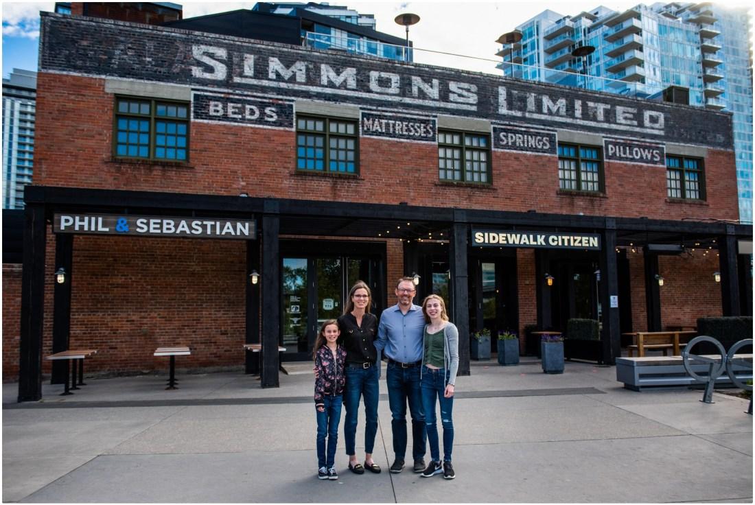 Calgary Urban East Village Family session