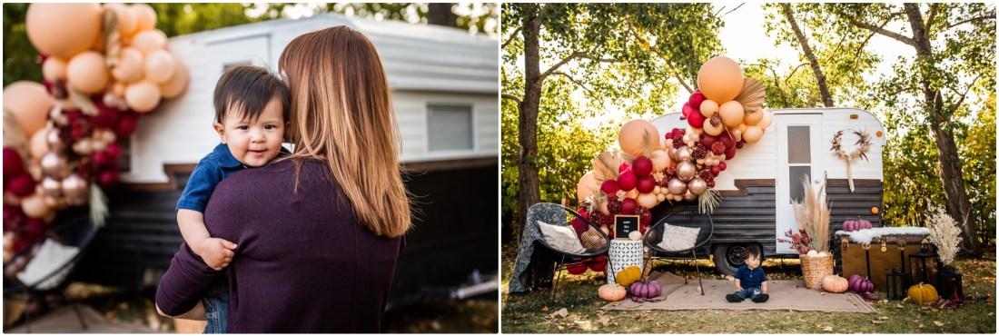Calgary Fall Photographers-Autumn Happy Camper