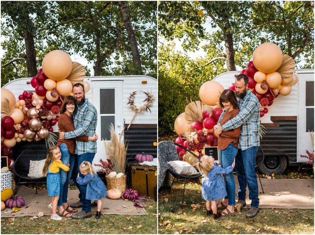 Calgary Mini Session Photos - Autumn Happy Camper