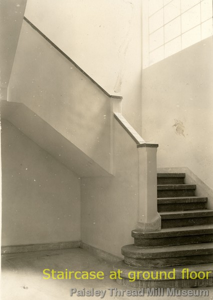 Staircase at ground floor